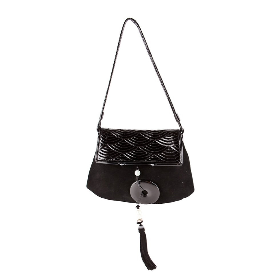 RARE TOM FORD for YVES SAINT LAURENT HANDBAG For Sale at 1stdibs