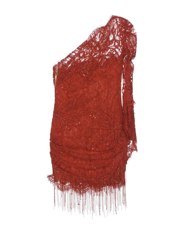 Kylie Minogue's Emilio Pucci Assymetric beaded lace dress image 2