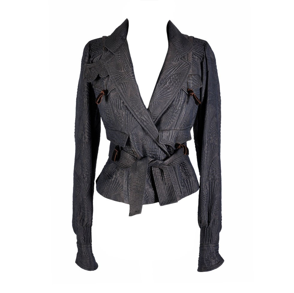 TOM FORD for YVES SAINT LAURENT PAGODA JACKET For Sale