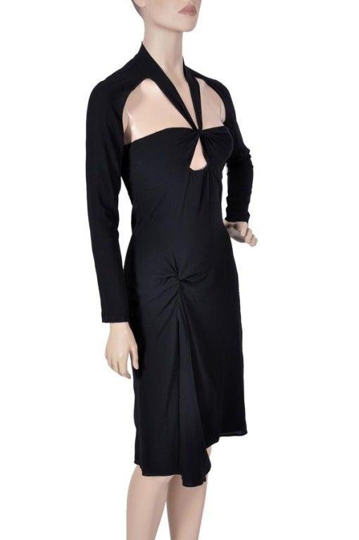 Black TOM FORD for GUCCI BLACK DRESS For Sale