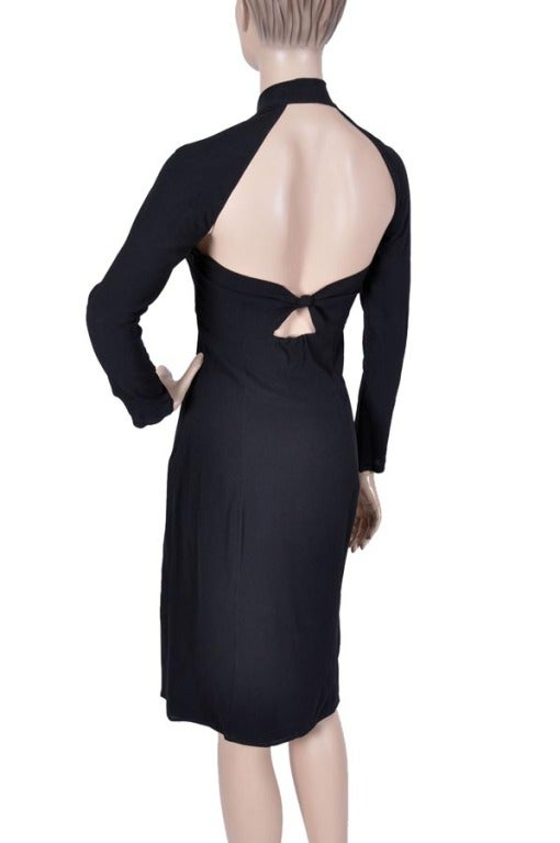 Women's TOM FORD for GUCCI BLACK DRESS For Sale