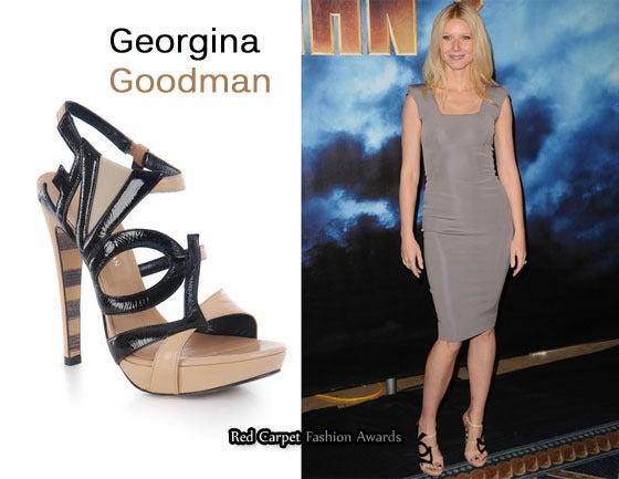 GEORGINA GOODMAN  Love crystal-embellished black suede sandals 5