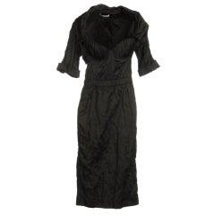 Neues Prada Cannette Antikes Schwarzes Bustier Kleid