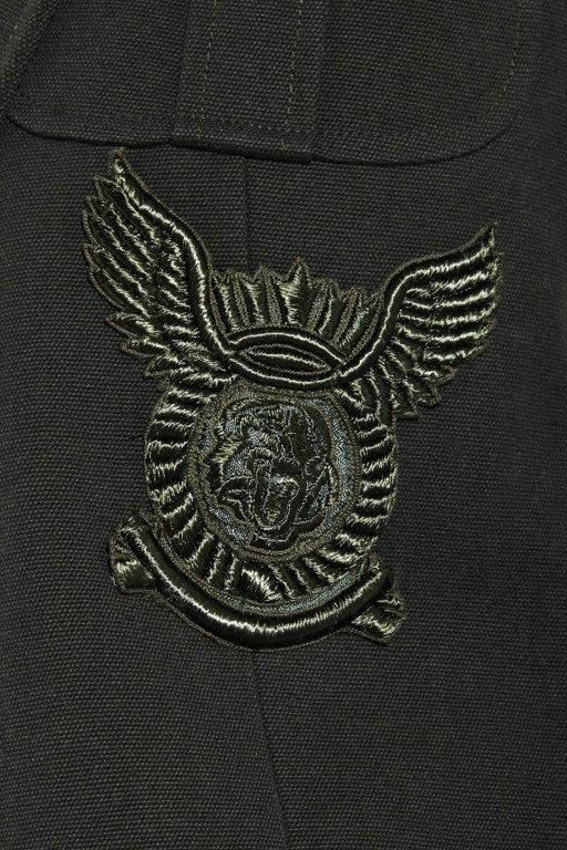 BALMAIN Cotton-canvas studded military blazer NICOLE owns too! 4