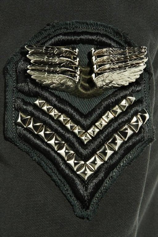 BALMAIN Cotton-canvas studded military blazer NICOLE owns too! 5