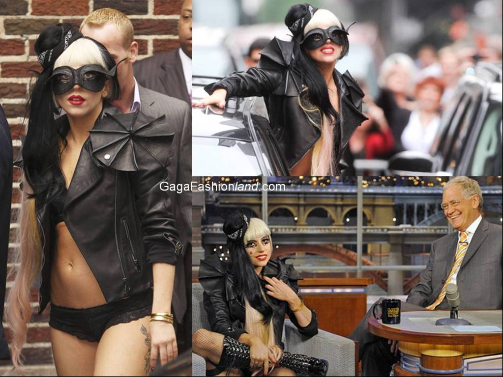 VIKTOR & ROLF BLACK LEATHER SCULPTURAL ARMOR JACKET GAGA LOVES! image 4