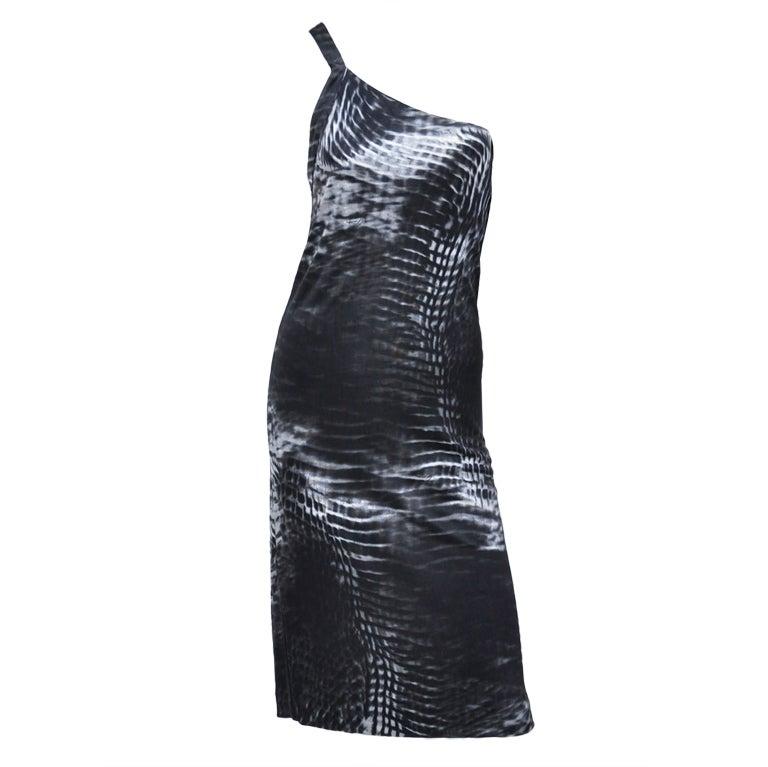 Tom Ford for Gucci One Shoulder Dress