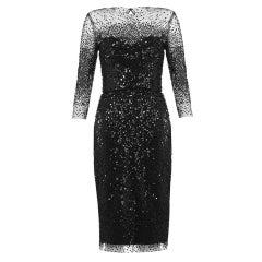Monique Lhuillier Sequin Illusion Dress BEYONCE owns too!