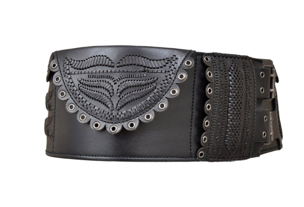 tom ford for yves laurent iconic leather belt at 1stdibs