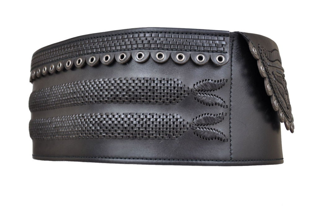 Tom Ford for Yves Saint Laurent Iconic Leather Belt 4