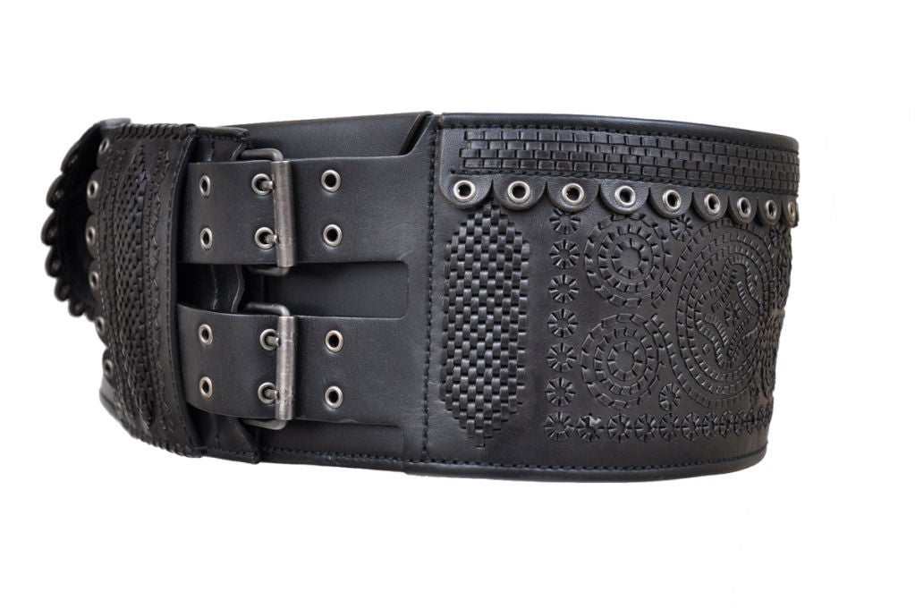 Tom Ford for Yves Saint Laurent Iconic Leather Belt 7