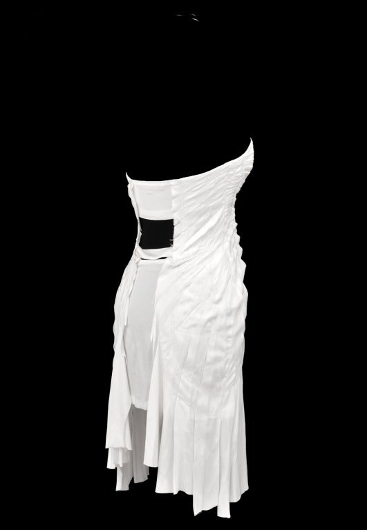S/S 2004 TOM FORD for GUCCI WHITE SILK DRESS 6