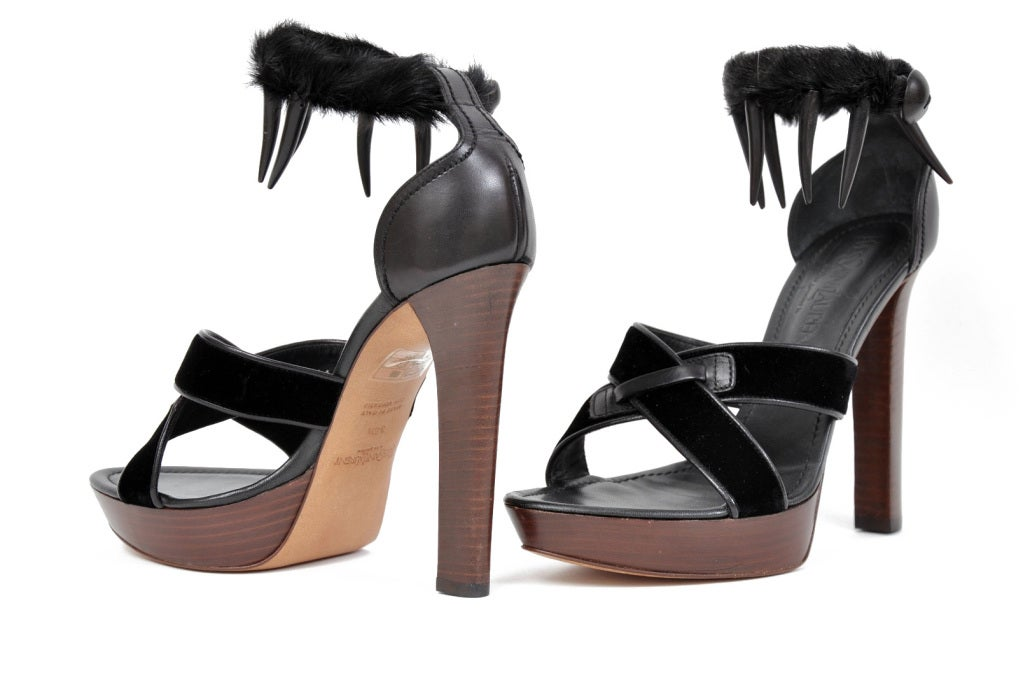 TOM FORD for YVES SAINT LAURENT SAFARI PLATFORM SANDALS