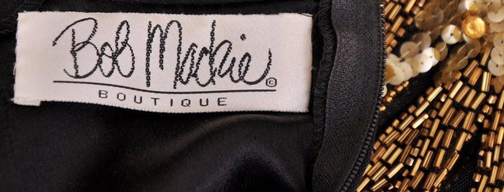 80-s Bob Mackie Beaded Bolero Dress For Sale 5