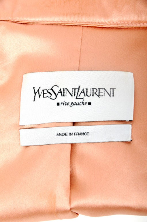 Tom Ford for Yves Saint Laurent Pink Silk Jacket 5