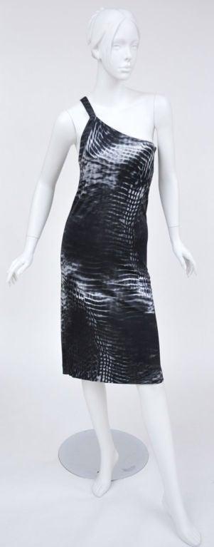 Tom Ford for Gucci One Shoulder Dress 2
