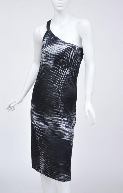 Tom Ford for Gucci One Shoulder Dress 3