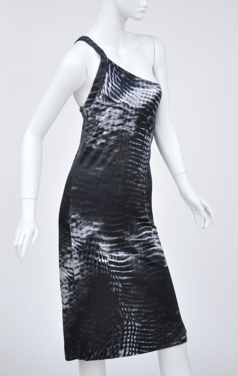 Tom Ford for Gucci One Shoulder Dress In Excellent Condition For Sale In Montgomery, TX