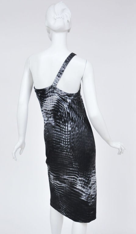 Women's Tom Ford for Gucci One Shoulder Dress For Sale