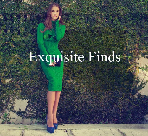 New TOM FORD EMERALD GREEN APPLIQUE LACE COCKTAIL DRESS For Sale 3