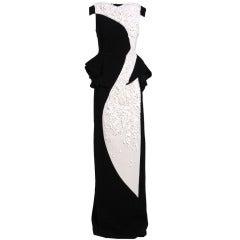 ANTONIO BERARDI black and white gown from 2013 BAFTA Awards!