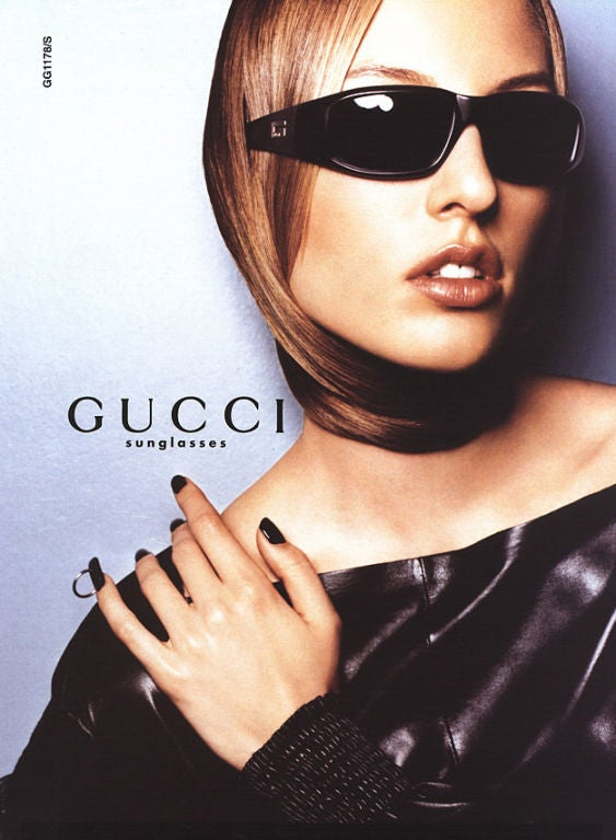 A/W 99 Tom Ford for Gucci Black Leather Top 6