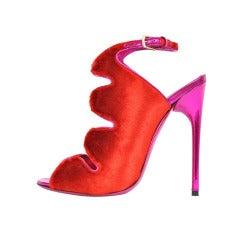 Tom Ford Red Velvet Shoes