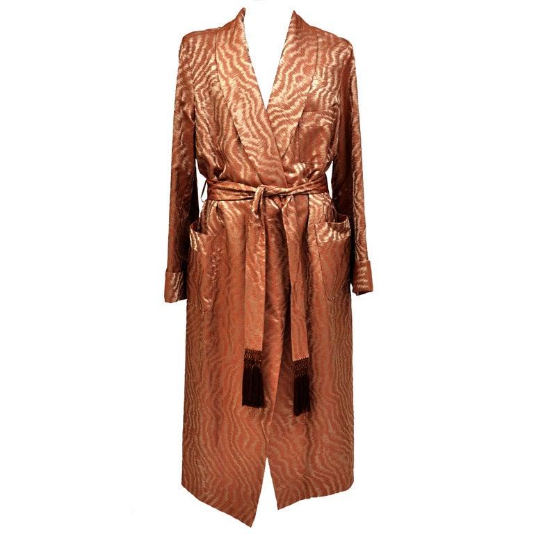 Brand New Tom Ford Men's Silk Robe