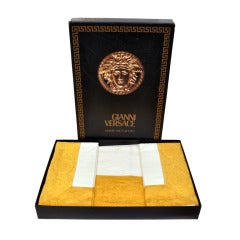 90-s Collectible Gianni Versace Baroque Bedding Set