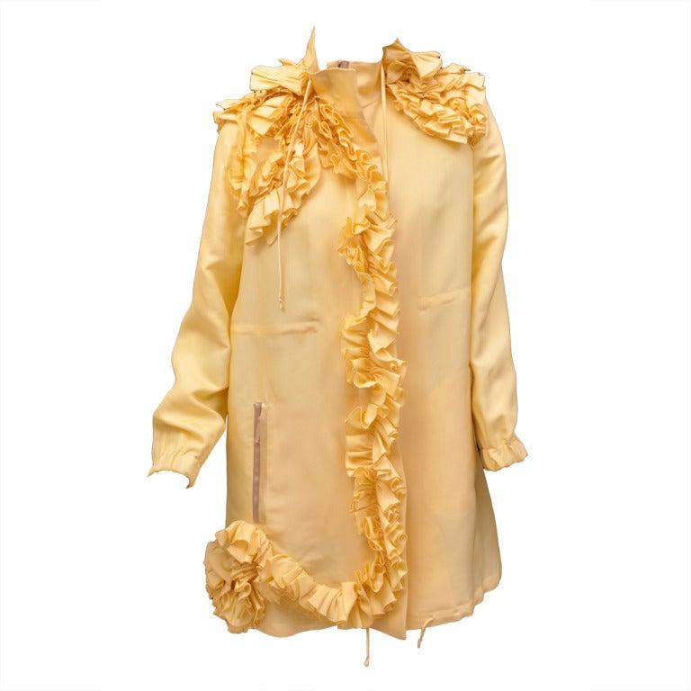 Valentino Silk Coat