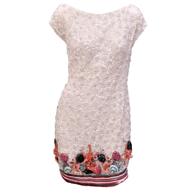 Zuhair Murad Embellished Mini Dress For Sale