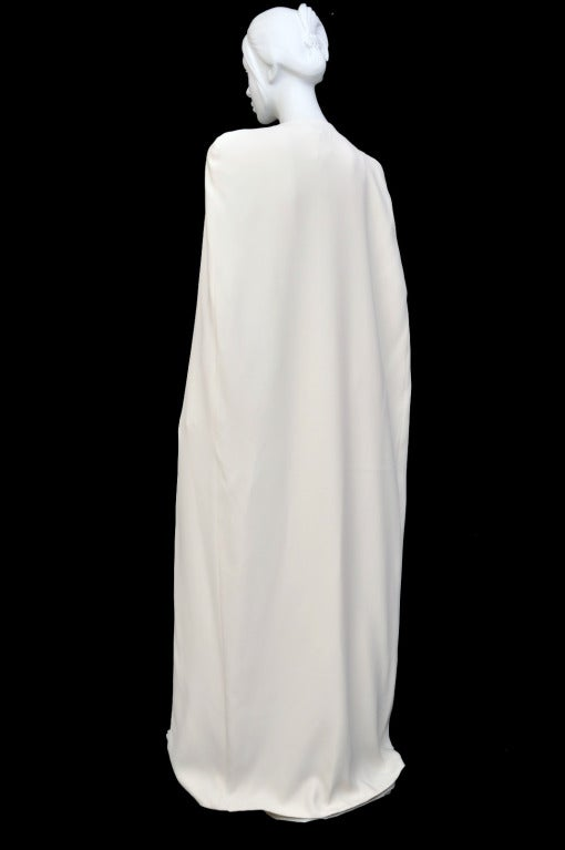 New Tom Ford Iconic White Dress with Cape Gwyneth wore to the Oscars! 7