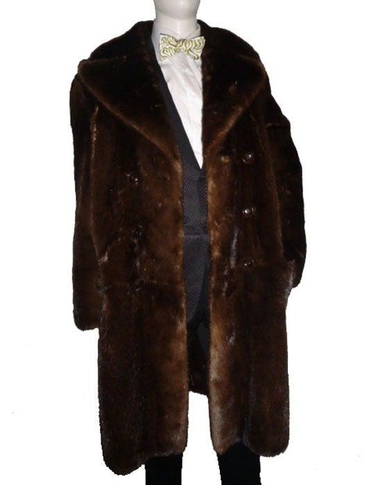 27 000 New Tom Ford Brown River Otter Men S Fur Coat At