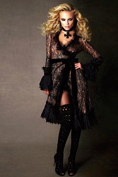 New Tom Ford Black Lace Dress In New never worn Condition For Sale In Montgomery, TX