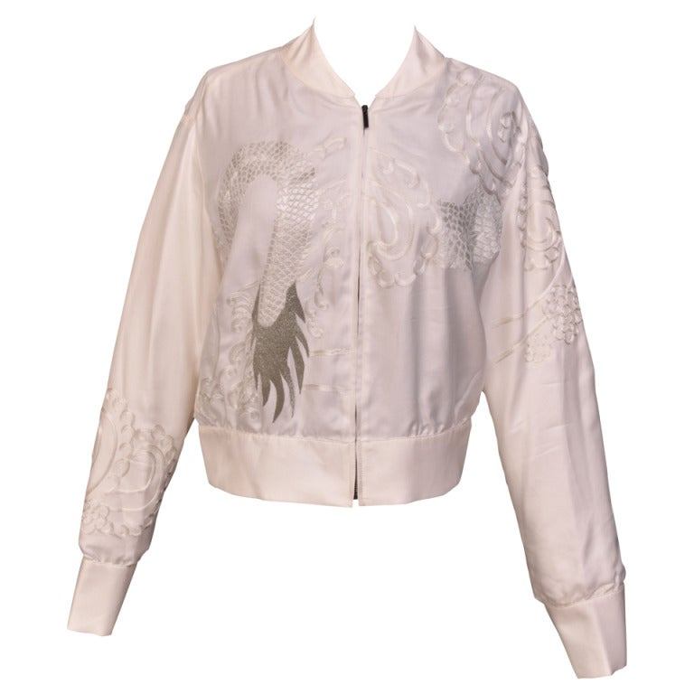 Tom Ford for Gucci Kimono inspired embroidered silk jacket, S / S 2003
