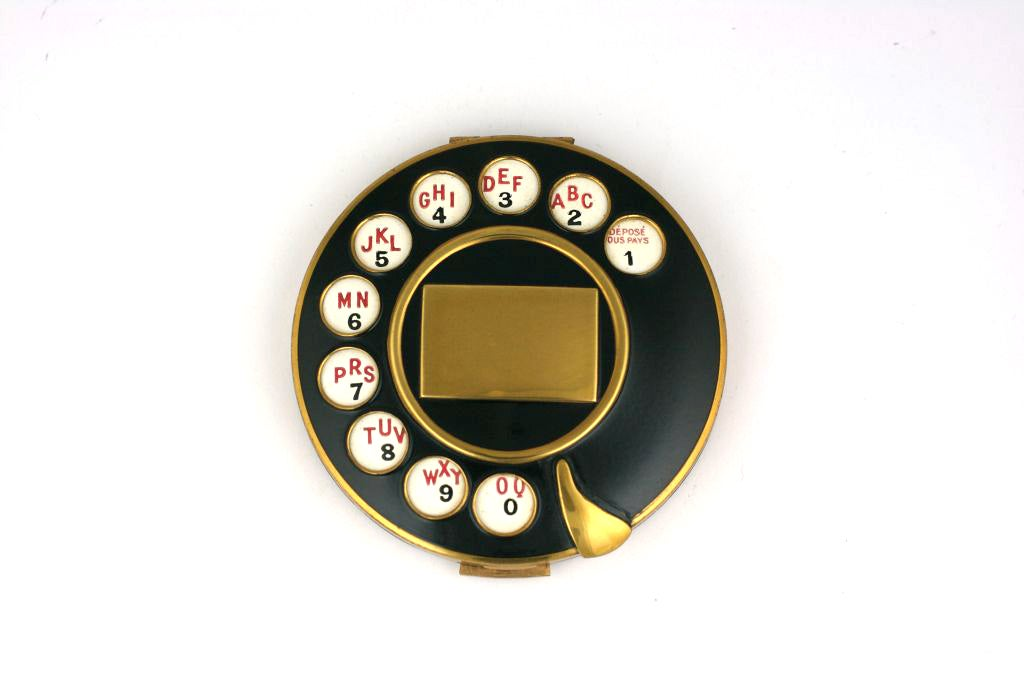 Salvador Dali for Schiaparelli HC Telephone Compact, Fall 1935 image 2