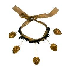 Schiaparelli Haute Couture Pine Cone Necklace, Jean Schlumberger