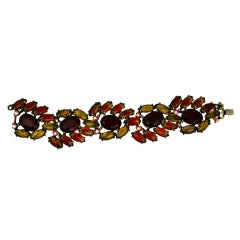House of Schiaparelli Wrist on Fire Flame Marquise Bracelet
