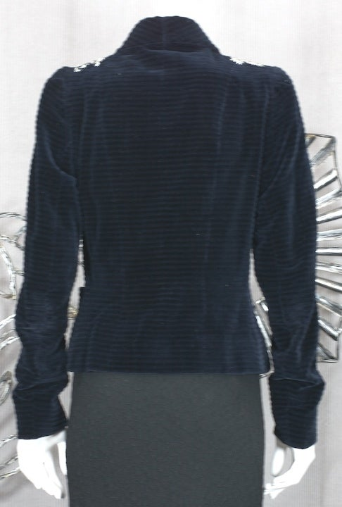 Extraordinary Elsa Schiaparelli Haute Couture Evening Jacket For Sale 1