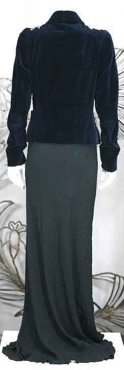 Extraordinary Elsa Schiaparelli Haute Couture Evening Jacket For Sale 2