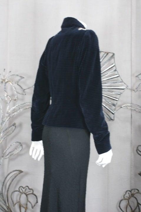 Extraordinary Elsa Schiaparelli Haute Couture Evening Jacket For Sale 3