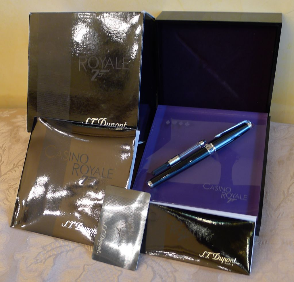 St dupont casino royale limited edition