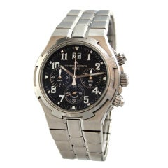 Vacheron Constantin Stainless Steel Overseas Chronograph Watch