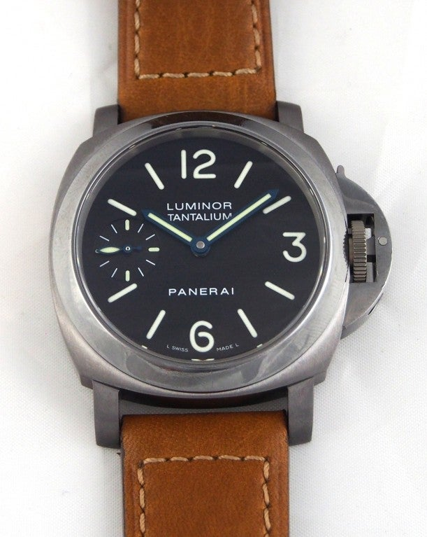 Panerai Tantalum Special Edition PAM 172 Luminor Marina Watch image 2