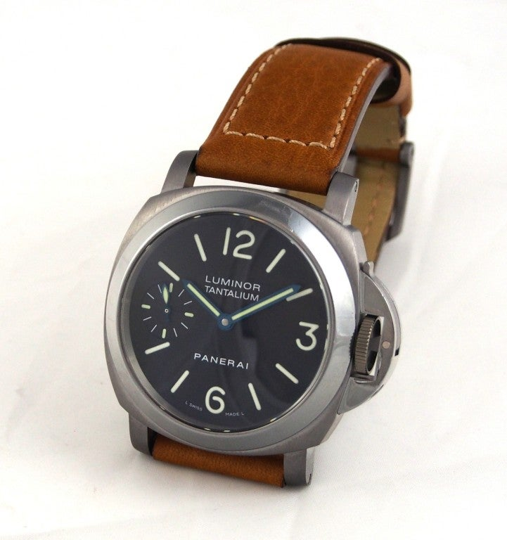 Panerai Tantalum Special Edition PAM 172 Luminor Marina Watch image 5