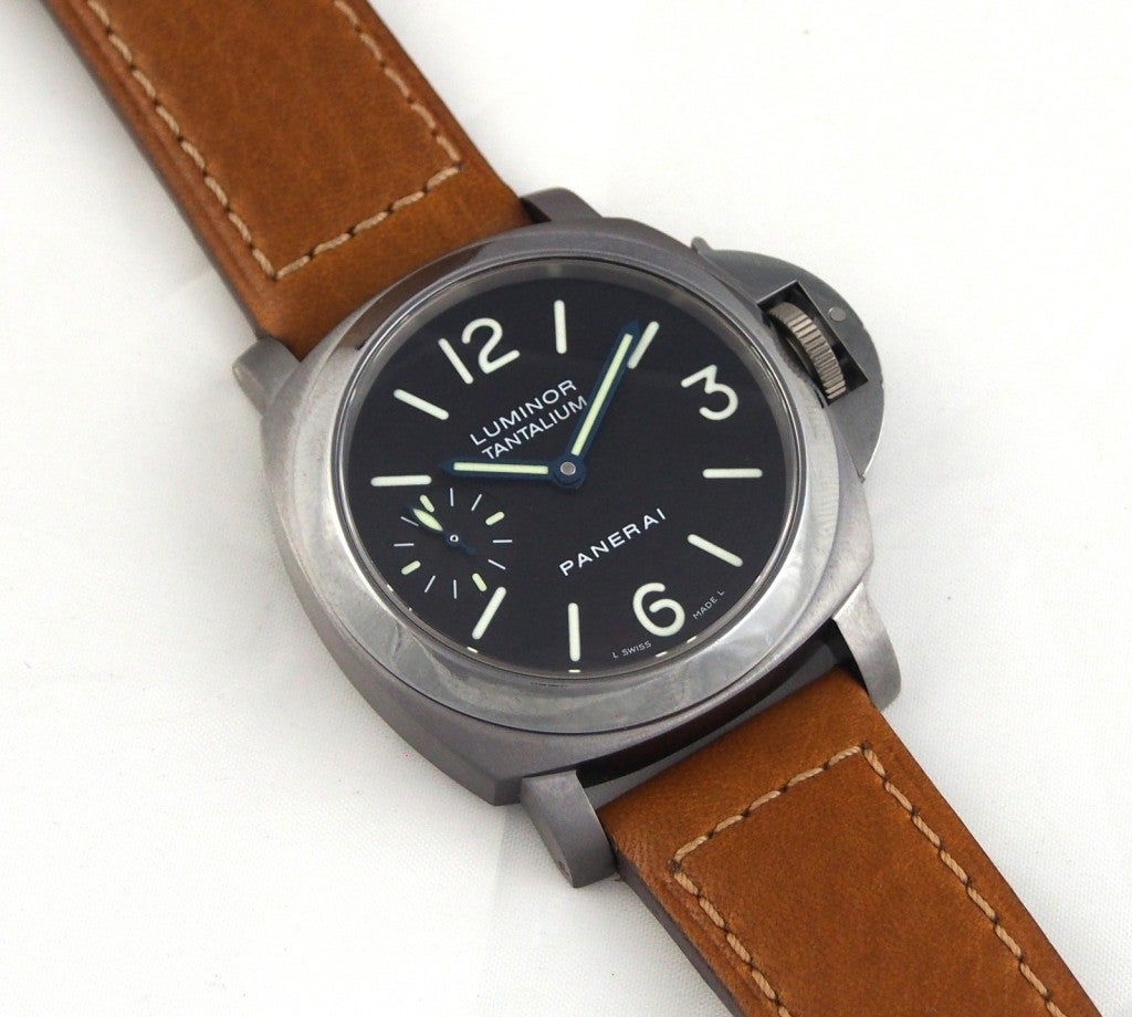 Panerai Tantalum Special Edition PAM 172 Luminor Marina Watch image 6