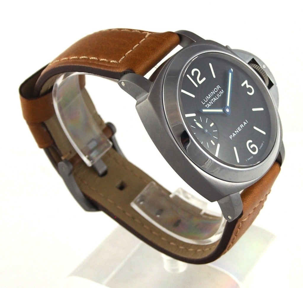 Panerai Tantalum Special Edition PAM 172 Luminor Marina Watch image 7