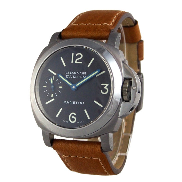 Panerai Tantalum Special Edition PAM 172 Luminor Marina Watch