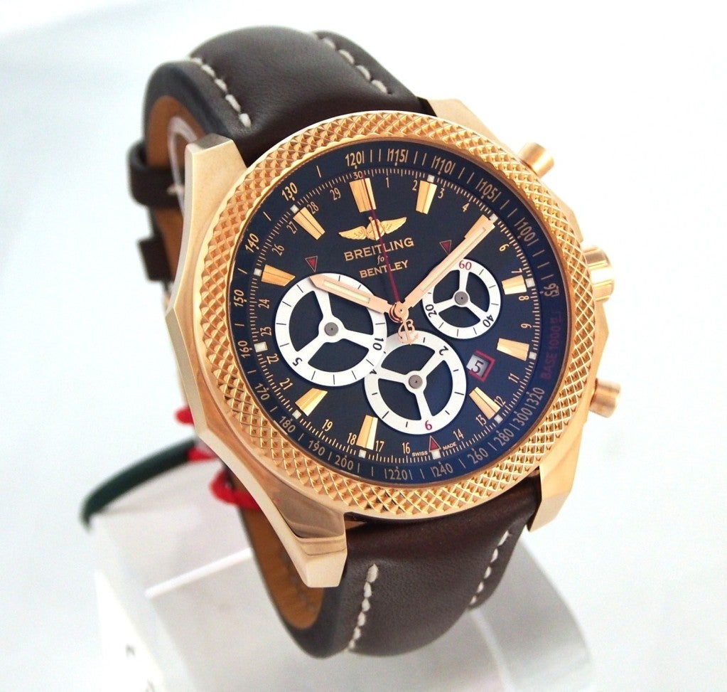 Breitling Rose Gold Bentley Barnato Racing Limited Edition