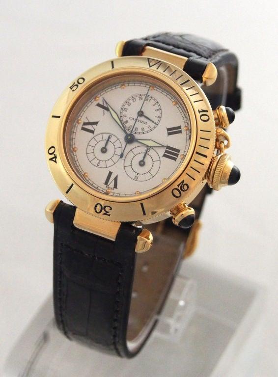 Cartier Gold Pasha Watch Cartier Yellow Gold Pasha